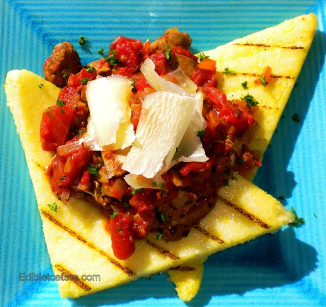 Polenta with porcini sauce 009