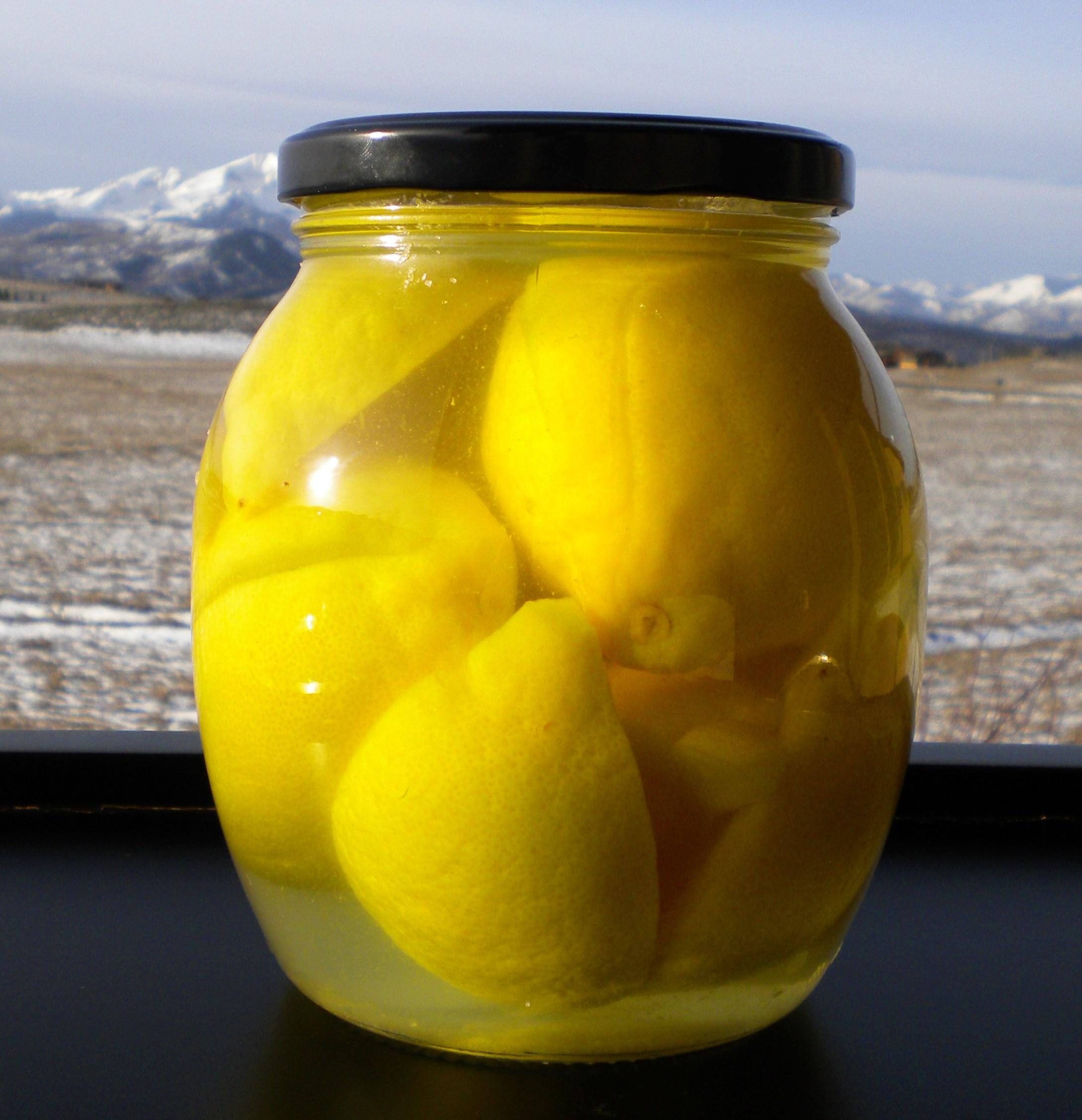 Recipe: Moroccan Preserved Lemons | Edibletcetera – Fast ...