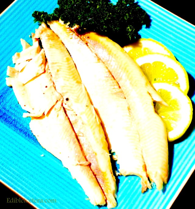 Newspaper Baked Trout