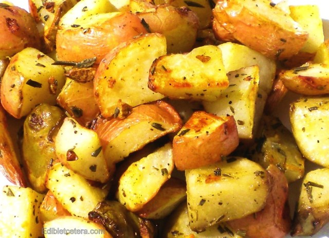 BLOG roast potatoes and sunchokes with rosemary and garlic 001