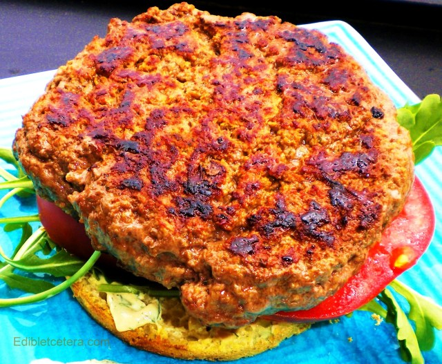 Beefburger with Mustard & Dill