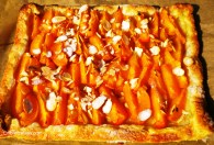 Easy Apricot & Almond Tart.