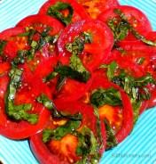 Pressed Tomato & Basil Salad