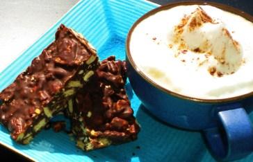 No-Bake Chocolate Hazelnut Crunch.
