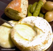 Hot Melted Camembert or Brie.