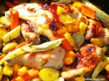 Honey & Rosemary Roastedd Chicken & Root Vegetables