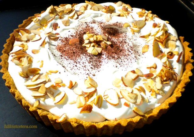 Chocolate Pie with an Almond Crust