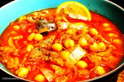 Chorizo & Garbanzo Bean Stew
