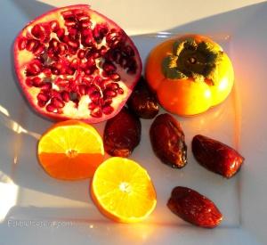 BLOG, persimmon fruit salad 017