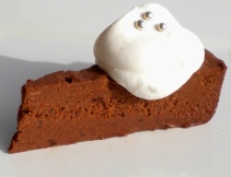 Flourless Chocolate Chestnut Cake 'Le Turinois'.
