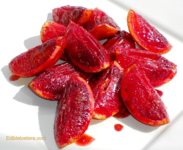 BLOG Spiced grilled blood oranges