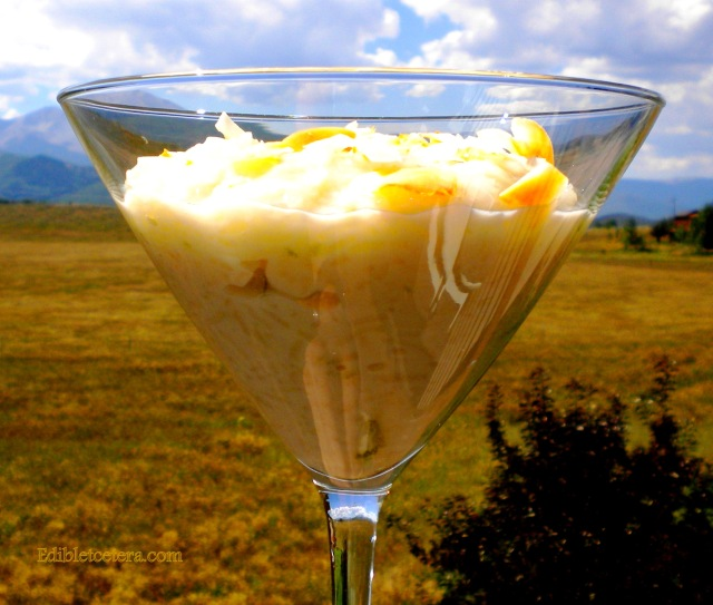 Coconut Lime Rice Pudding
