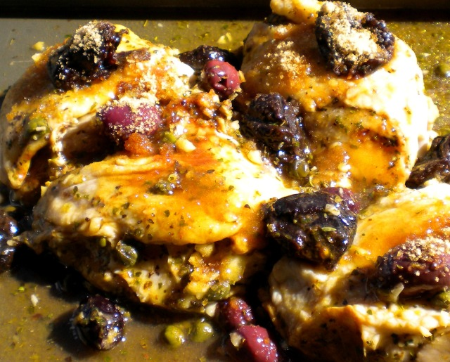 Blog Chicken with prunes and sherry vinegar 003