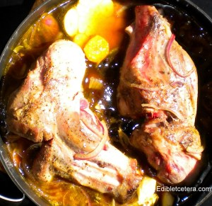 BLOG Lamb shanks with prunes, uncooked 007 edibletcetera