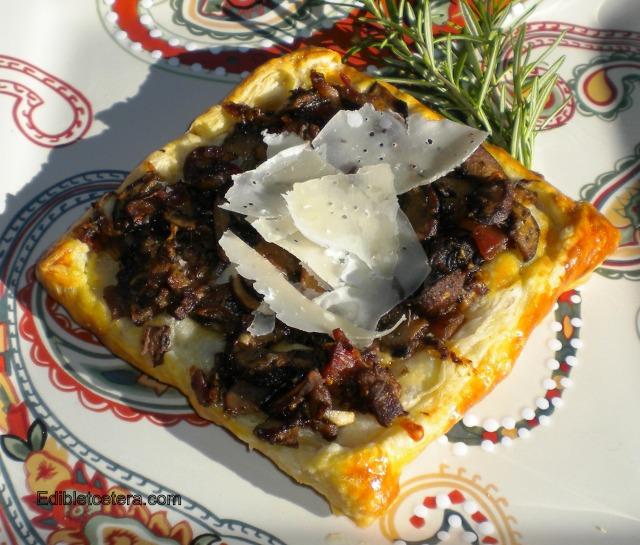 BLOG mushroom Tart