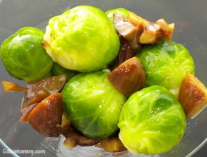 Brussels sprouts and chestnus, blog