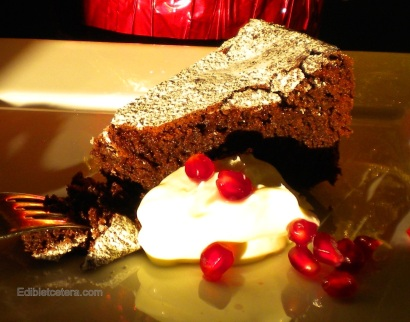 Rich Chocolate & Almond Cake