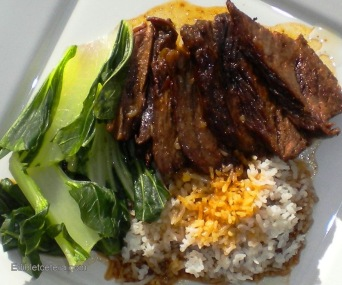 Asian-Spiced Beef Pot Roast with Bok Choy.