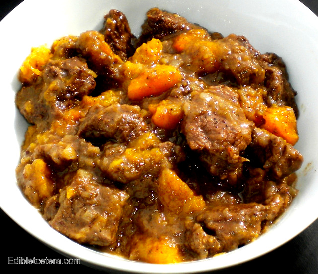 Moroccan Spiced Lamb with Apricots