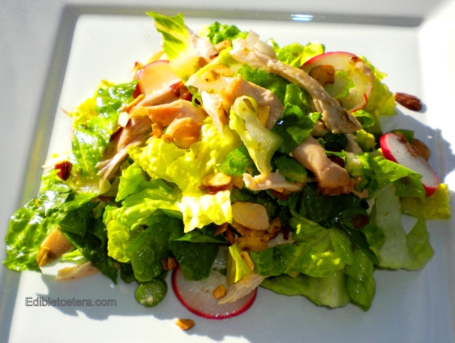 BLOG Thai chicken salad with almonds 010