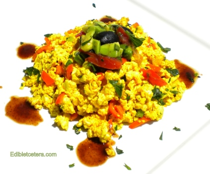 Scrambled Tofu.