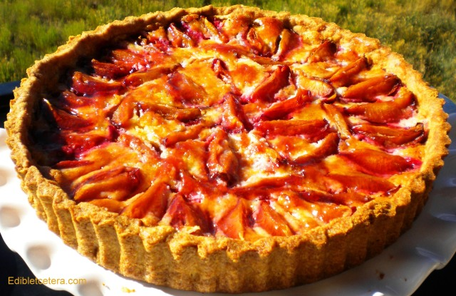 BLOG Plum Almond tart 002