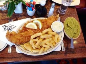 Haddock & Chips, magpie ccafe