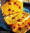Pumpkin & Fresh Cranberry Loaf