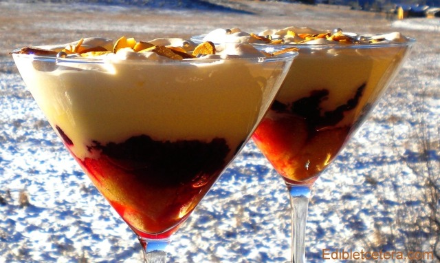 Cranberry & Grand Marnier Trifle