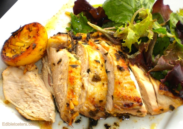 Roast Chicken with Lemon & Fresh Herbs