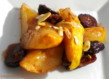 Warm Spiced Pears & Figs