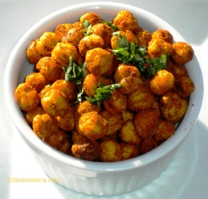 Crispy Indian Spiced Chickpeas