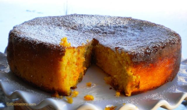 Sicilian Clementine Almond Cake