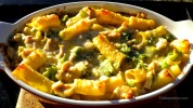 Baked Pasta with Chicken & Broccoli