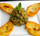 Roasted Eggplant with Pine Nuts, Basil, Mint & Parsley