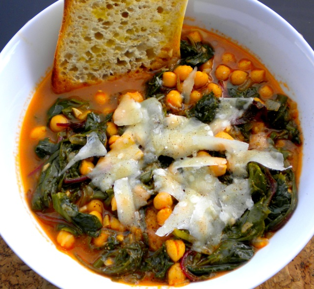 Tuscan Chickpea Stew with Chard