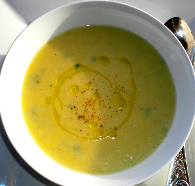 Truffled Parsnip, Leek & Potato Soup
