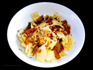 Pappardelle with Chanterelles & Hazelnuts