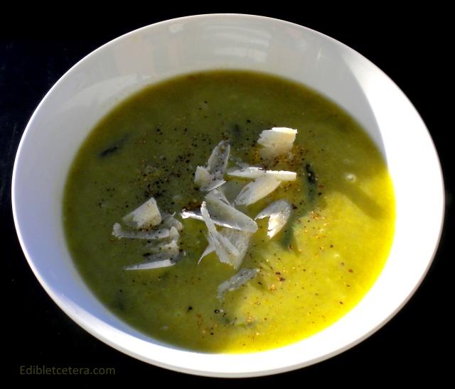 Asparagus & Parmesan Soup