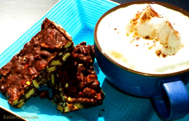 Chocolate Hazelnut Crunch Bars