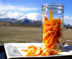 Candied citrus peel 007