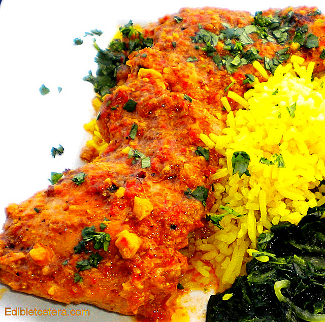 Chicken in a Sweet Red Pepper Sauce