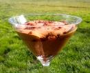 Chocolate Mousse with Hazelnut Praline