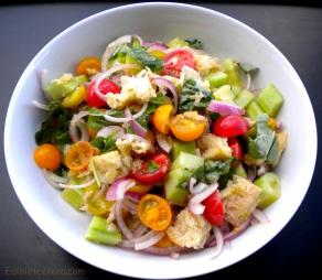 Panzanella (Tuscan Bread & Tomato Salad)