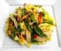 Warm Asian Chicken Salad with a Citrus Lemongrass Dressing