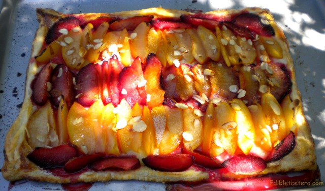 A Very Easy Fruit & Almond Tart