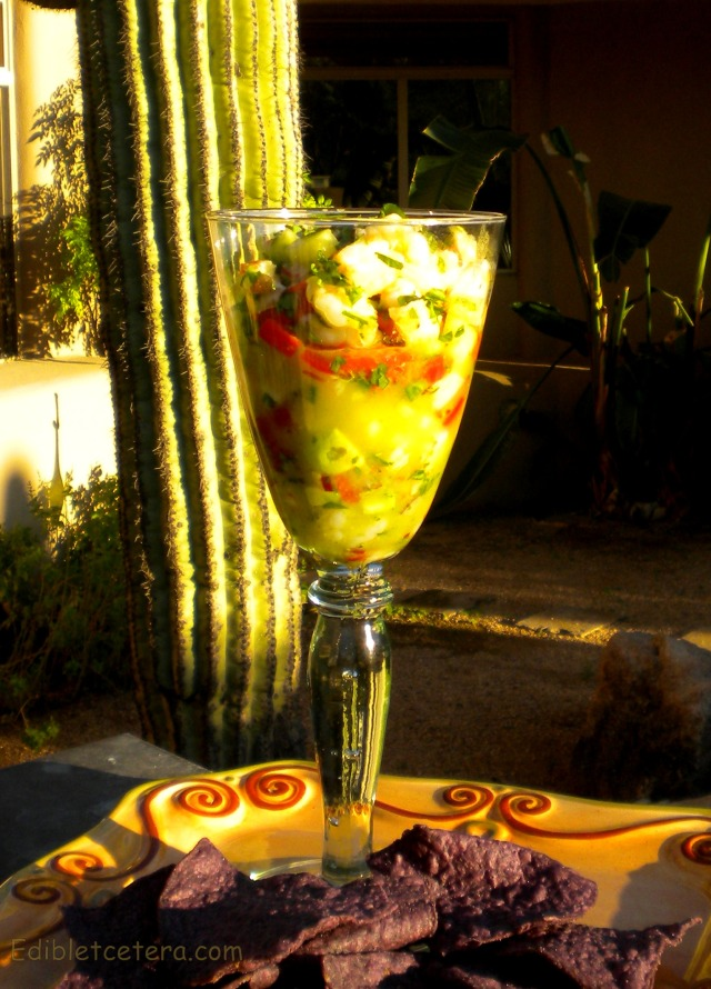 Ceviche with Shrimp