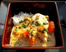 Chicken & Sweet Potatoes in Coconut Milk