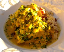 Chicken with Moroccan Preserved Lemon & Cilantro