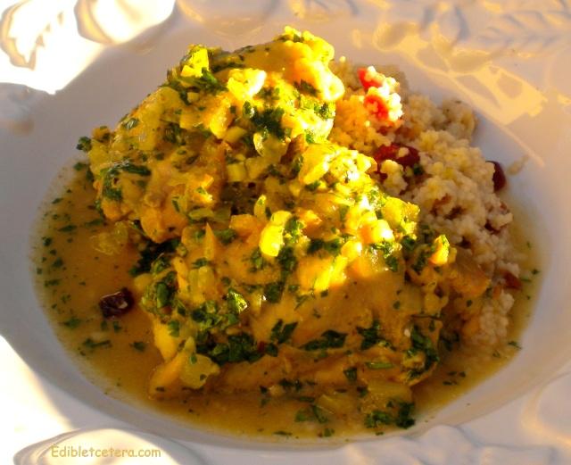 Chicken with Moroccan Preserved Lemon & Cilantro